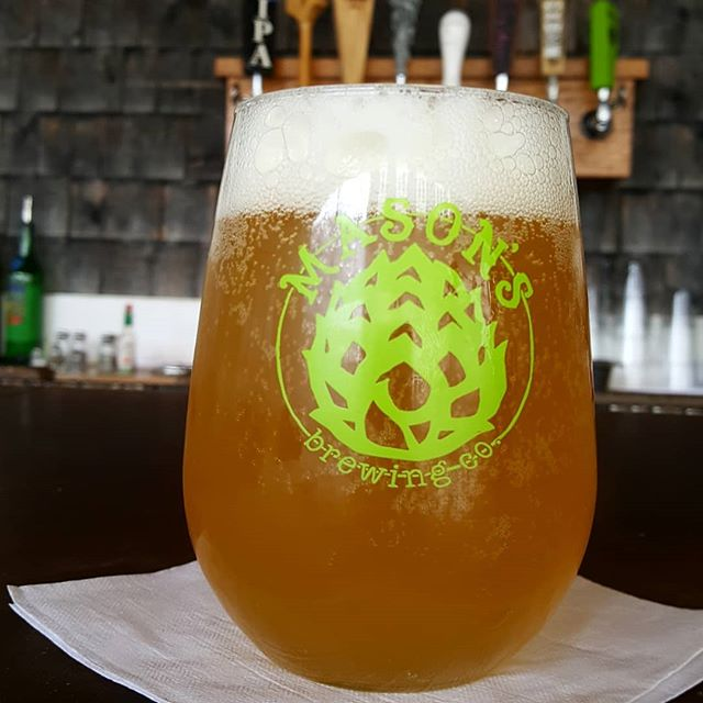 Mason's Brewing Hipsterapocalypes is on draft on the Parrilla  #eatlocal #drinklocal #drinkmaine #drinkindependent #craftmaine #craftbeer #craftfood #beerme #mainecraftbeer #maine #masonsbrewing  #havanamaine #havanabarharbor #hipsterapocalypse