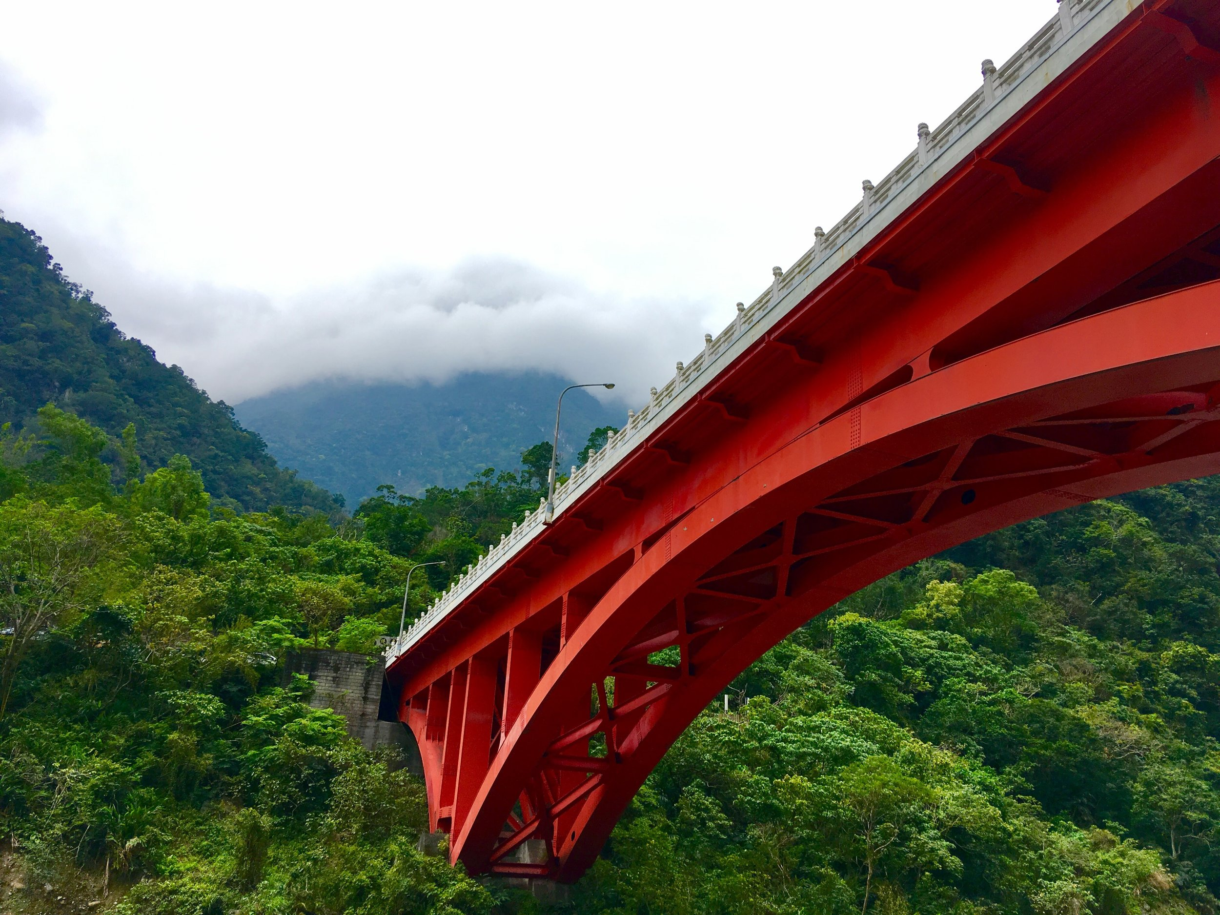 Bridge, Taroko Gorge, Taiwan. Photo: Grace Wu.