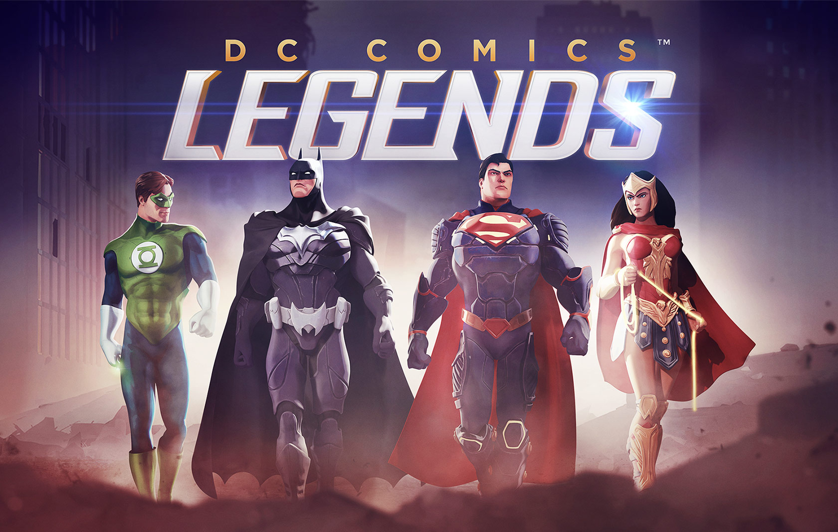 DC Comic Legends  |  WB Games
