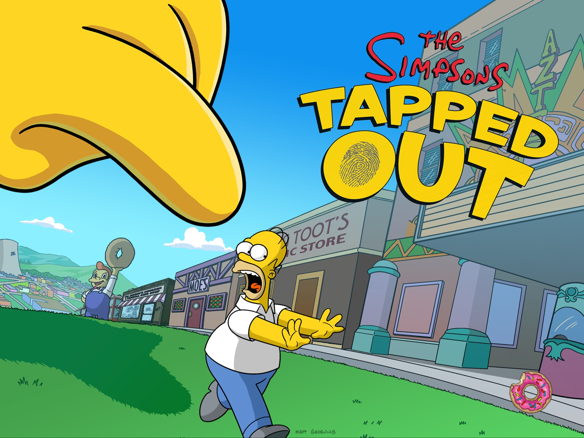 Simpsons Tapped Out  |  EA Mobile