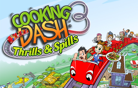 Cooking Dash: Thrills & Spills