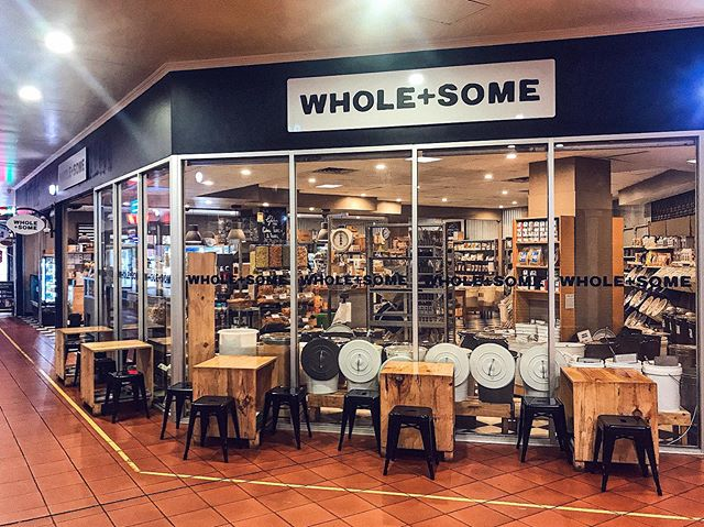Same place, same people just a fresh new name:  WHOLE+SOME . When was the last time you popped in for a browse,  filled up your favourite bulk food items, enjoyed one of our famous juices or treated yourself to something delicious from our Kitchen menu? . #wholeandsome #adelaide #samebutdifferent
