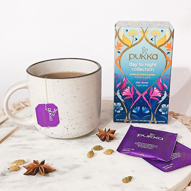 Herbal Bliss from Dusk to Dawn with the Pukka tea collection -see the range in store! ☕️ 🌿  Pukka tea uses the highest grade of organic herbs & spices. Pictured is the day to night collection for the avid tea drinker and those who value variety 👏🏽 . #organic #tea #pukkatea #herbaltea #pukka #organictea #detox #cleanse #revitalise