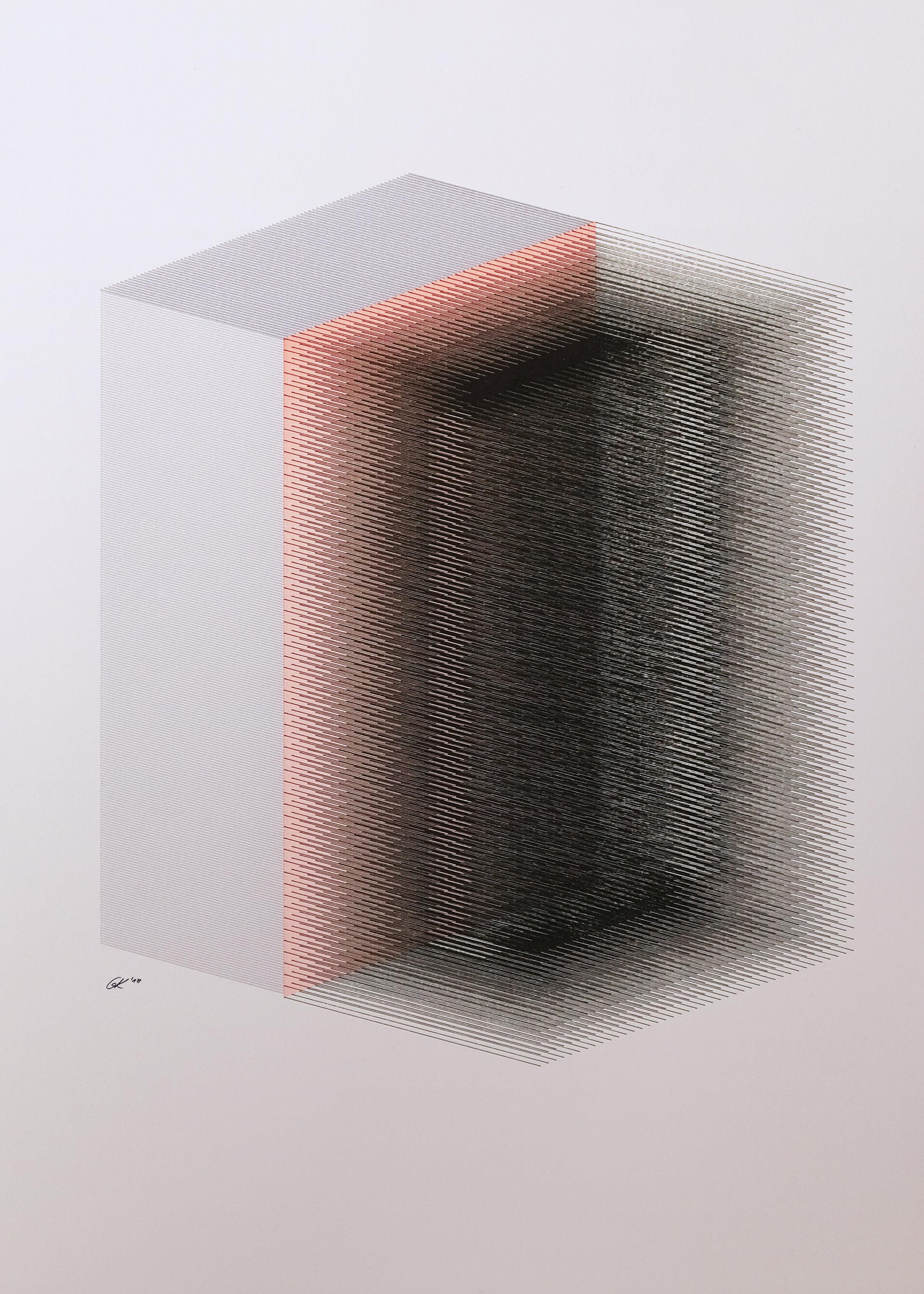 Pen Plotter Artwork - Gunther Kleinert