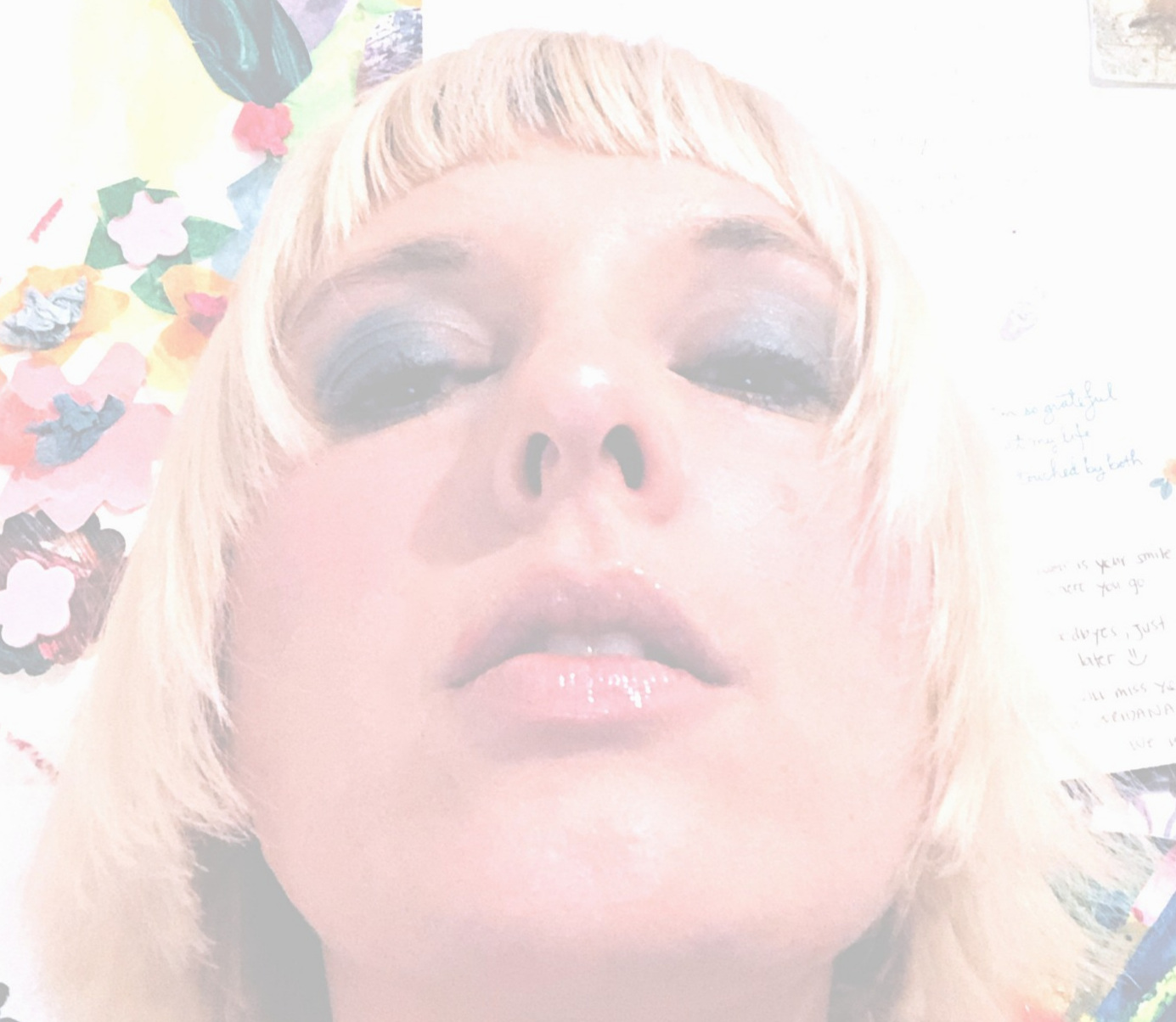 Loredana Gasparotto's self portrait
