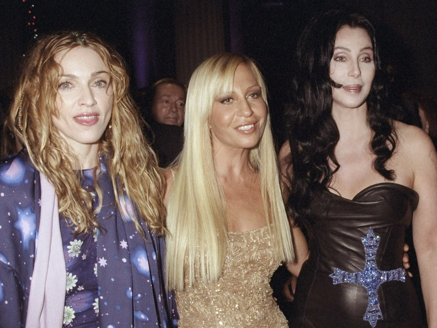 Versace with Maddona and Cher