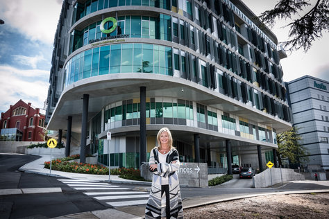 Professor Robyn Anderson is presently working at the Olivia Newton John Cancer Research Centre