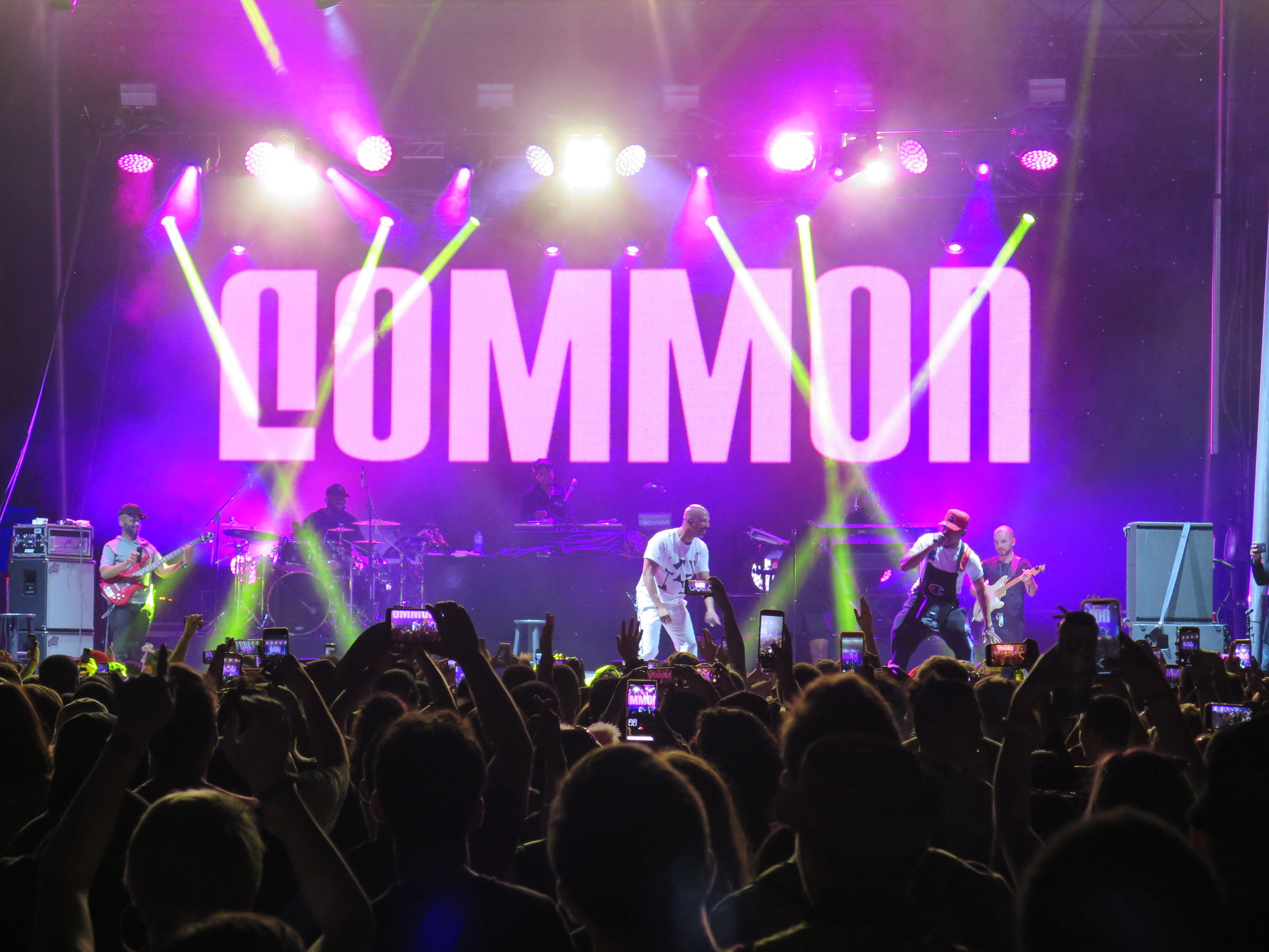 Common / Tune Yards / Towkio / CupcaKKE / Grandson - Mamby On The BeachJune 23rdissue # 17My first experience with Mamby On The Beach was a success. Grandson kicked us off and set the bar high enough to match his energy. CupcaKKe raised her own bar and peeked through her blonde curls to rap about her pussy's desires. Towkio and his braids and bounces were even better in person than I had hoped (I was hoping Chance would join for this set…). Merrill Garbus owned the stage as Tune Yards and held it until she was finished with her set, joining the crowd for an acapella ending after the festival cut the feed to keep events running as scheduled. Common brought the beach down with his tidal wave of a performance, summoning Chance to freestyle at this festival of hometown greats. Grandson is hitting Reggies on March 12. Tix are $15. ($18 at the door). CupcaKKe is coming home to Thalia March 21. Tix are $18. Chance the Rapper is headlining a Night At The Museum event at the Science and Industry Museum tonight December 20th. Tix are $10.-LPLPhoto: LPL
