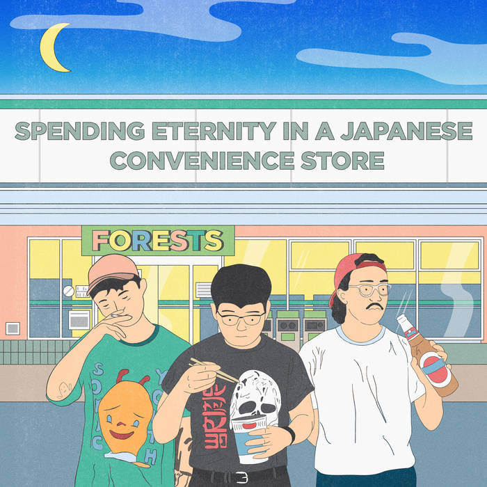 forests - Spending Eternity In A Japanese Convenience Store