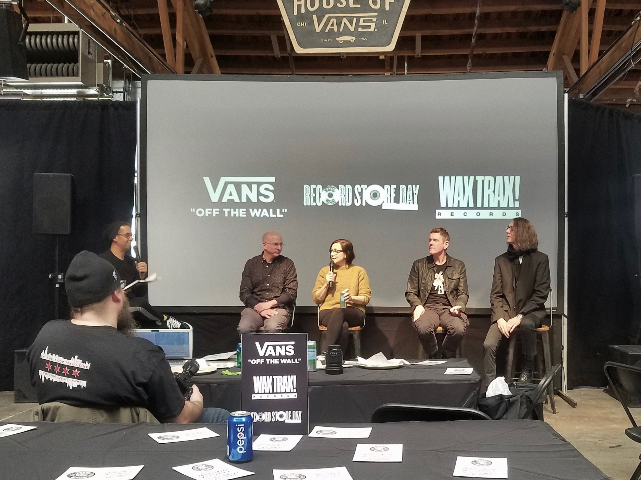 Industrial Accident: The Story of WaxTrax Records! - Documentary Soundtrack ReleaseHouse of Vans - February 28th