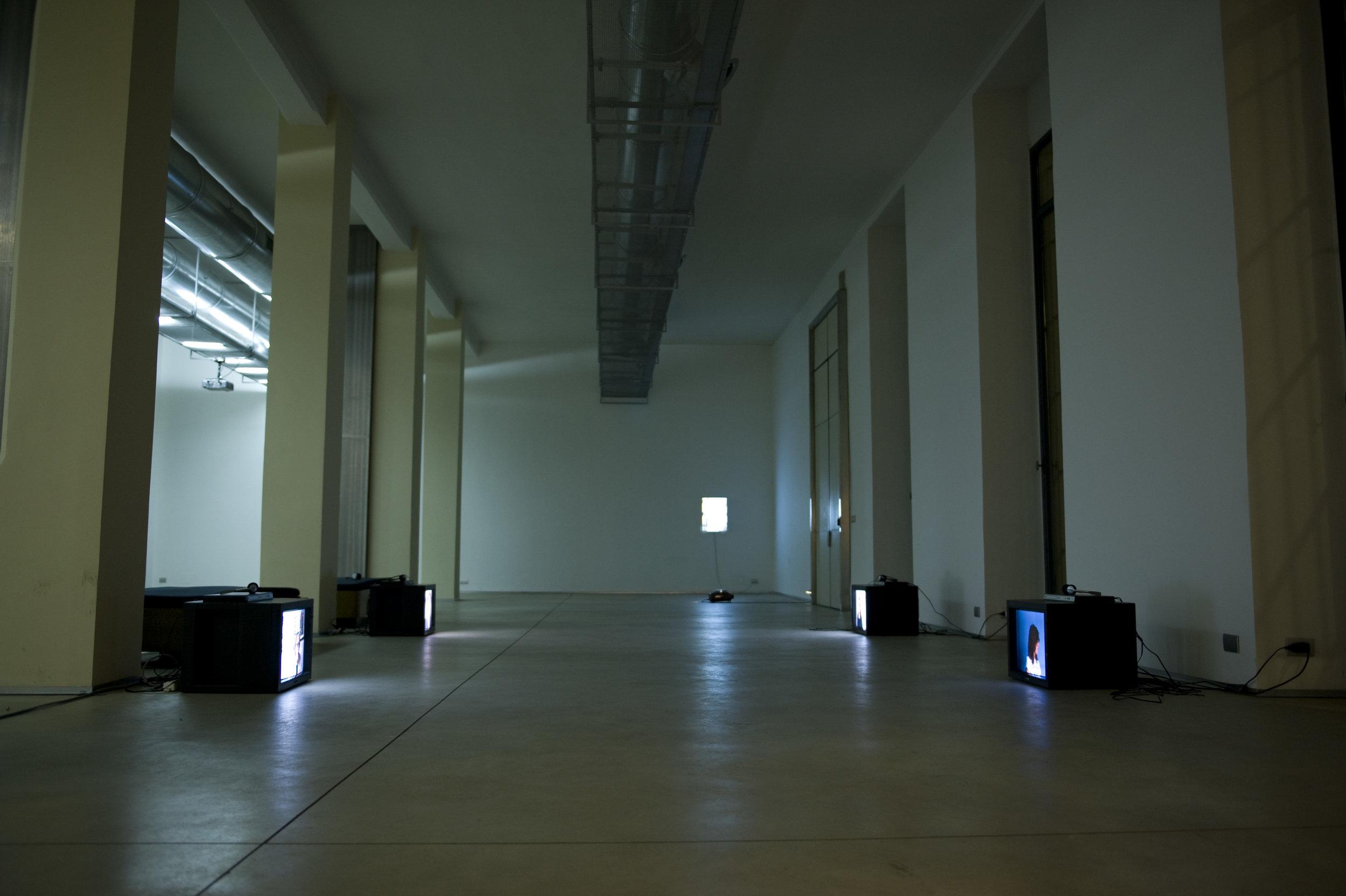 Installation view of   Zero Gradi Di Separazione