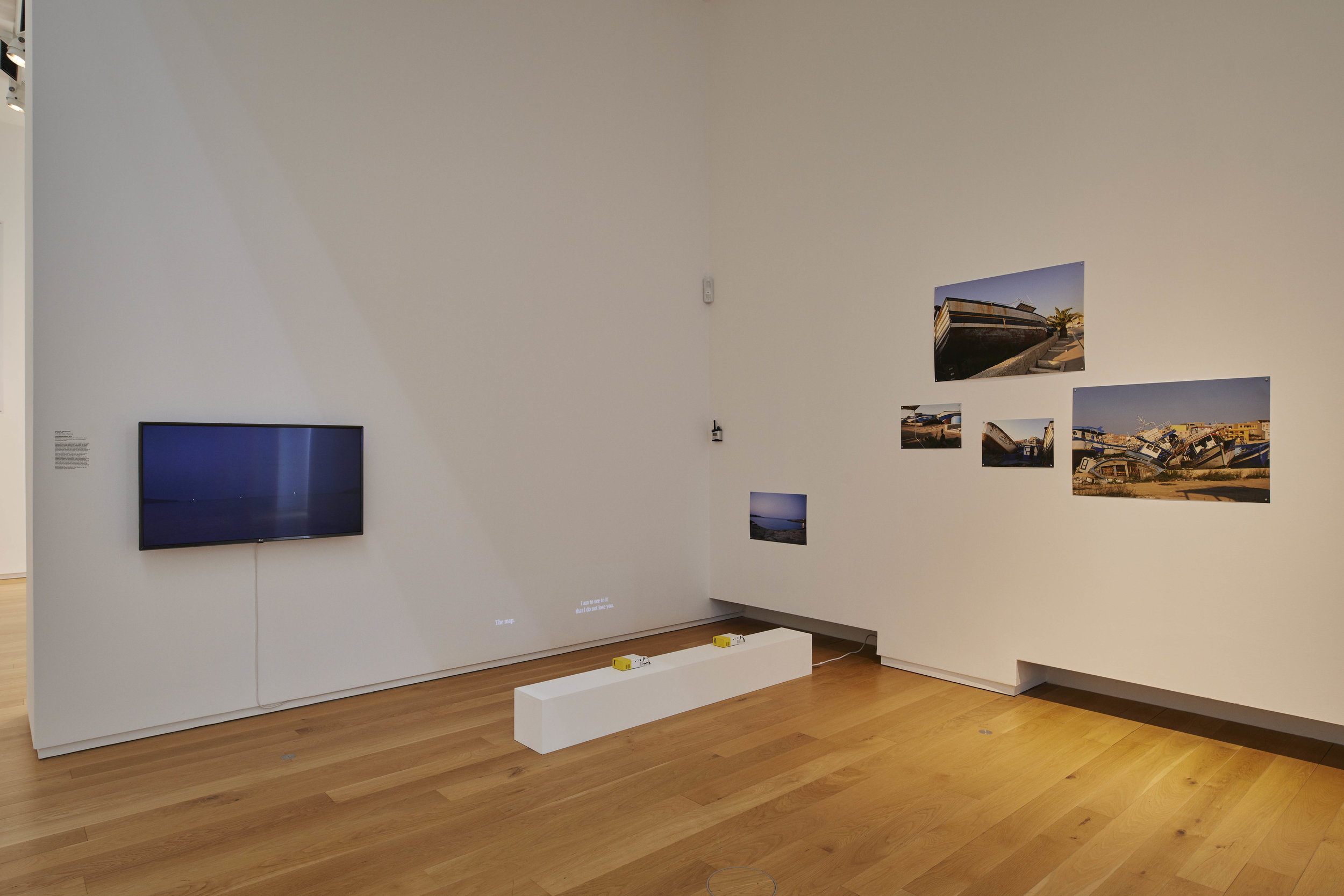 Load Displacement,  2017, installation view at the The Hugh Lane, Dublin City Gallery, Dublin, Republic of Ireland