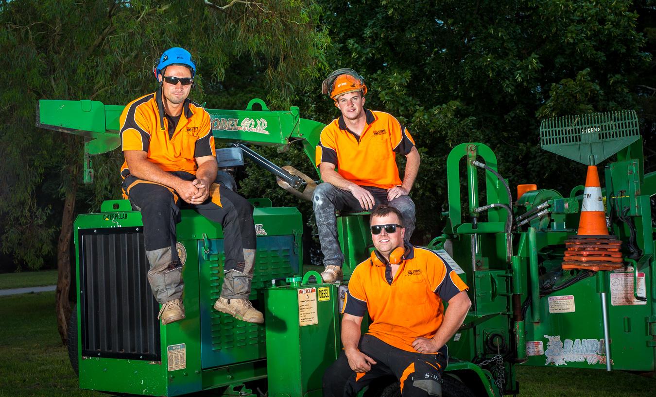 Stump'd Tree Services Canberra Team 3