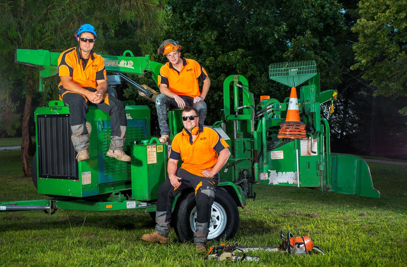 Stump'd Tree Services Canberra Team 4