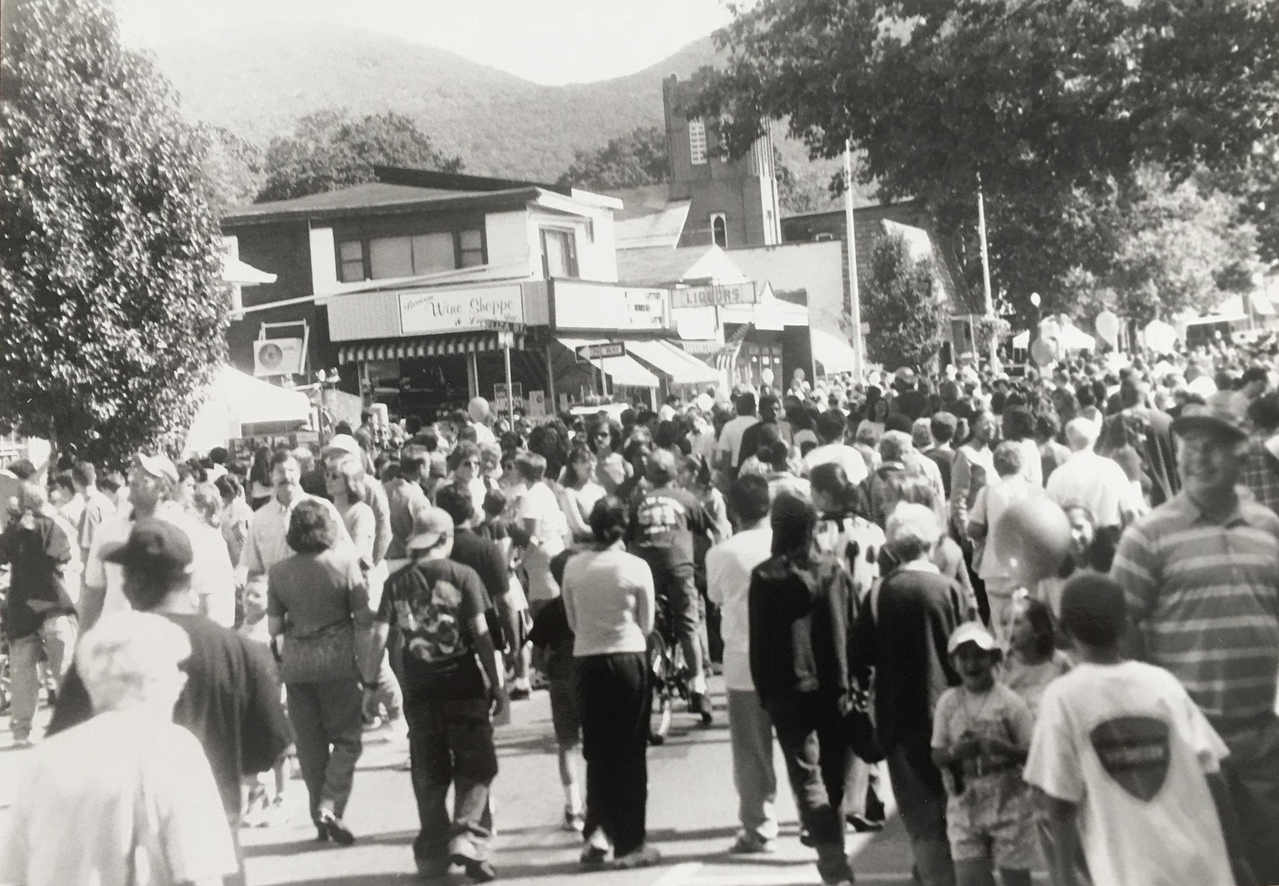 Spirit of Beacon Day 1999, courtesy Beacon Historical Society
