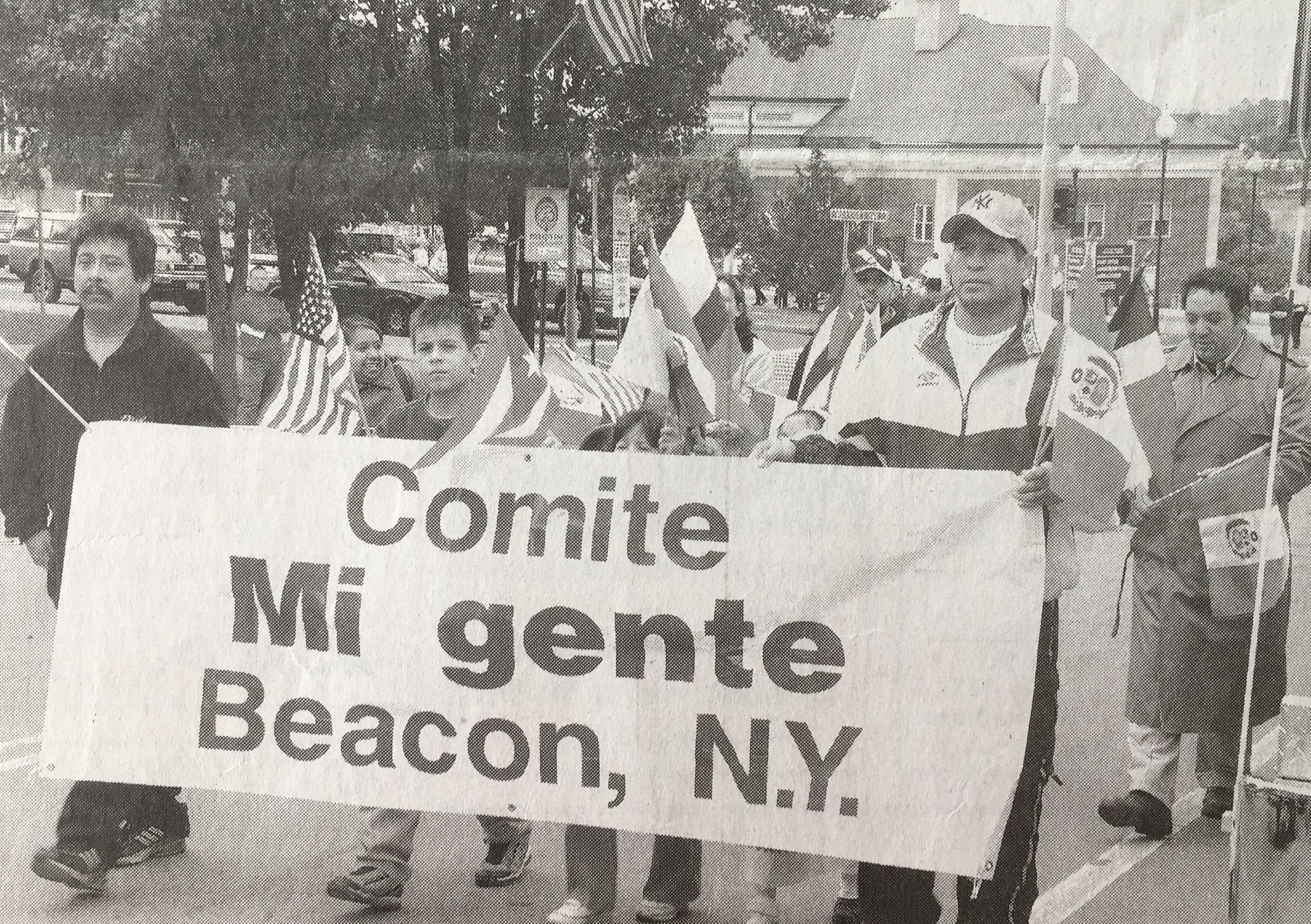Spirit of Beacon Day circa 2000, courtesy Beacon Historical Society / Beacon Free Press