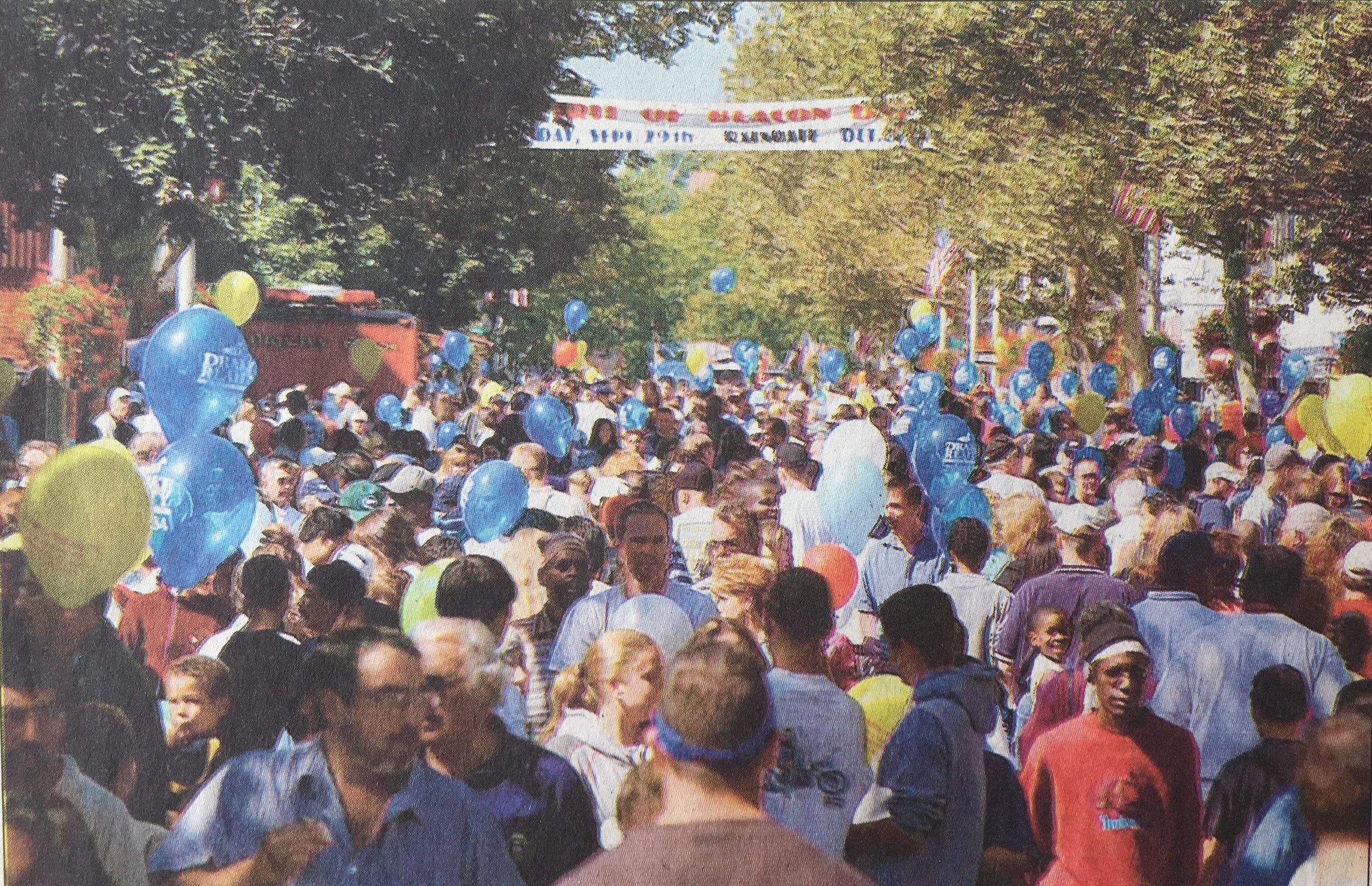 Spirit of Beacon Day 2002, courtesy Beacon Historical Society / Poughkeepsie Journal
