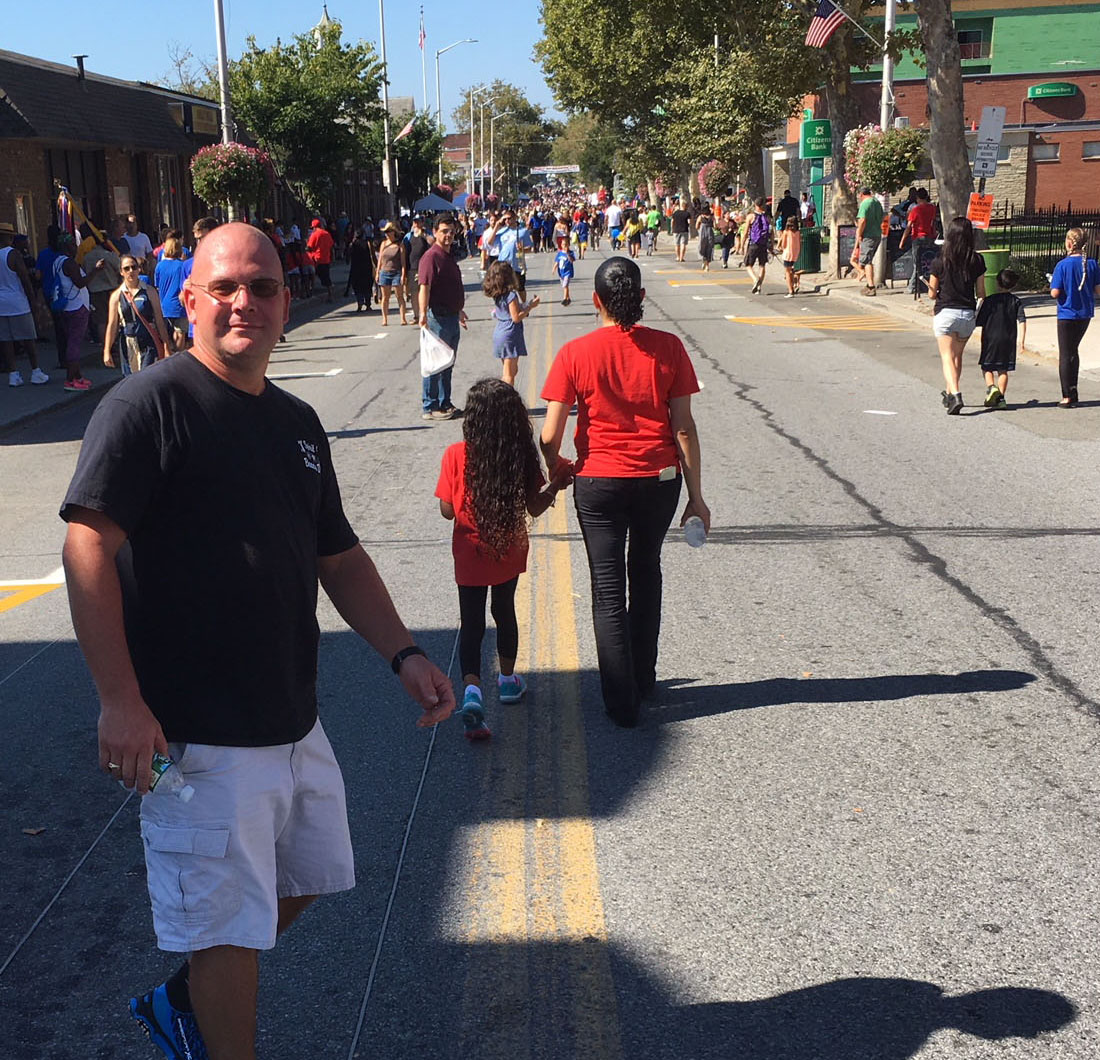 Roy Ciancannelli, Parade Organizer, 2017