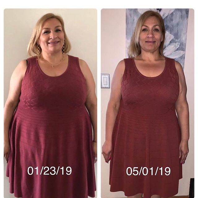 """CLIENT SPOTLIGHT! . 🎉 Help us congratulate Leticia 🎉 We are beyond excited about the changes this amazing woman has seen! Leticia began her journey earlier this year making changes in her own routine and diet. Since starting with us in March, she is currently down 19 lbs and 9 inches! Leticia has stayed dedicated to her goals inside and outside the gym and I s well on the way to achieving those goals!! She brings an awesome energy to the gym each day, and we are blessed to have the opportunity to be a part of her journey. . """"Before Move Bros Fitness, I was a once a month attendee at my local gym where I didn't know what I needed to do or how to make use of the equipment to help me with my fitness goals. I was looking for support and a program that would make me feel like I couldn't let a day go by without me working towards my fitness goals. I found it here!! The trainers are all amazingly friendly, professional and caring. My workouts are planned and monitored/adjusted accordingly. My progress is measured and documented regularly. Most importantly, my results to date, are phenomenal! My body is transforming quickly"""" - Leticia"""