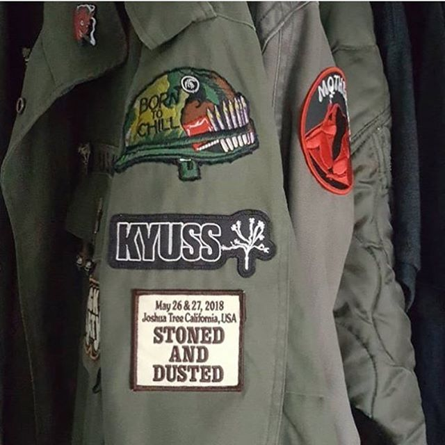 Hey, our party patch is looking pretty good on this jacket - we got a small amount left - get yours if you haven't yet! Head over to stonedanddusted.com to purchase! Direct link in bio - #Repost @kyussworld @misfitpapa - #stonedanddusted #patch #patches #denim #looks #rad #getyours #desertrock #stonerrock #festival #joshuatree #joshuatreenationalpark #garthsbouldergardens #wherewereyou #yeahbuddy