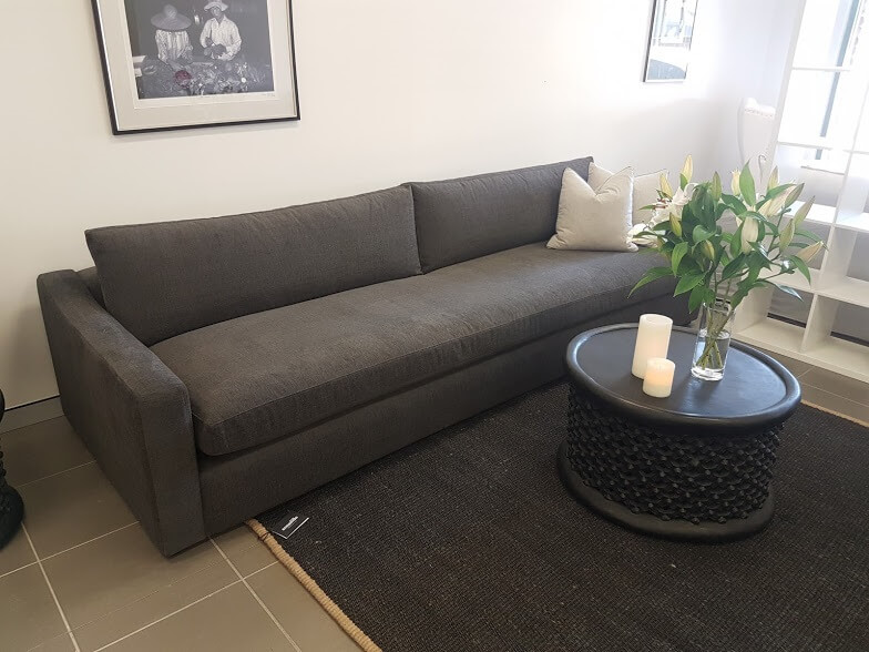 Fitted 3.2m Karen sofa with bench seat
