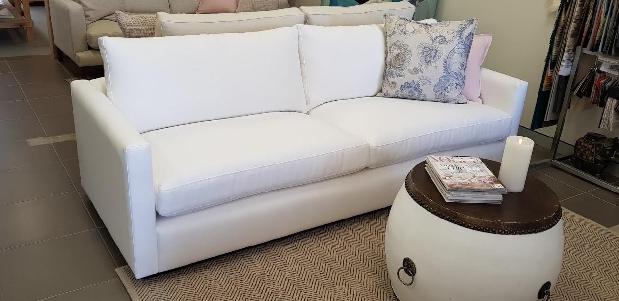 Oscar Sofa Range -Slim arm 10 cm Ash Plinth