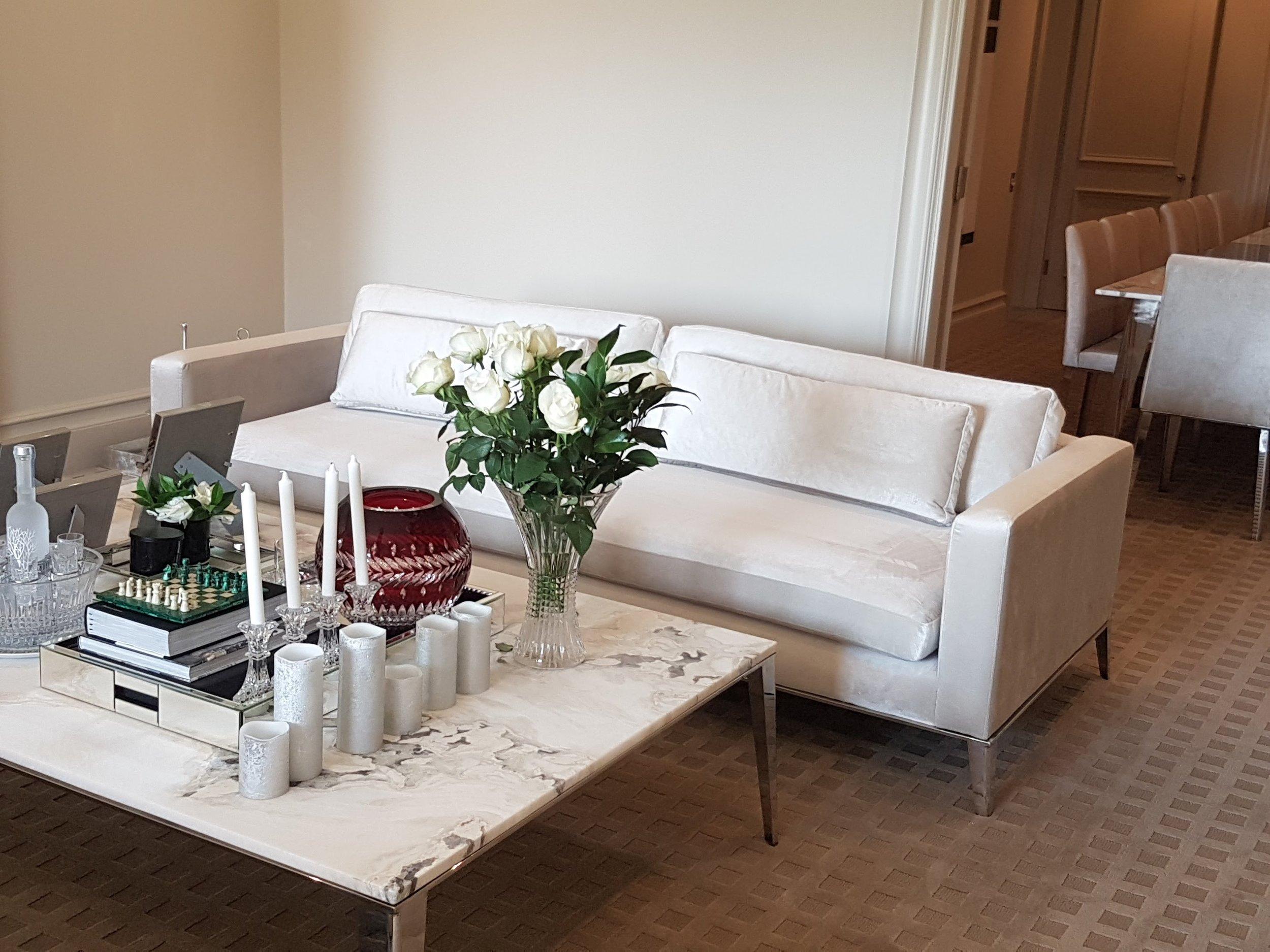 Bespoke formal room setting