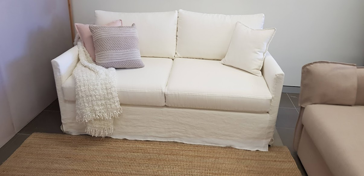 Airlie Queen size sofa bed with loose cover