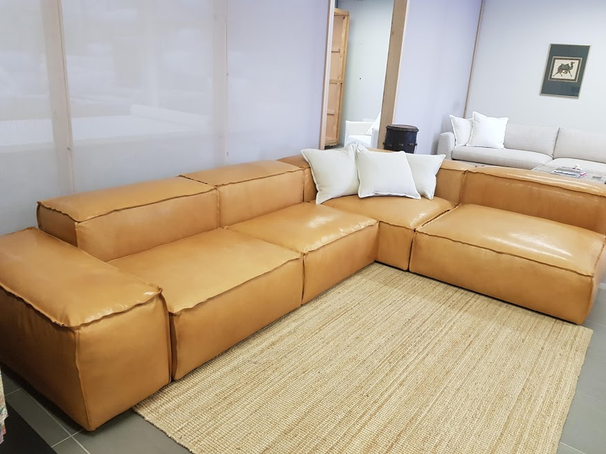 Pod Sofas- Lock together to create any size