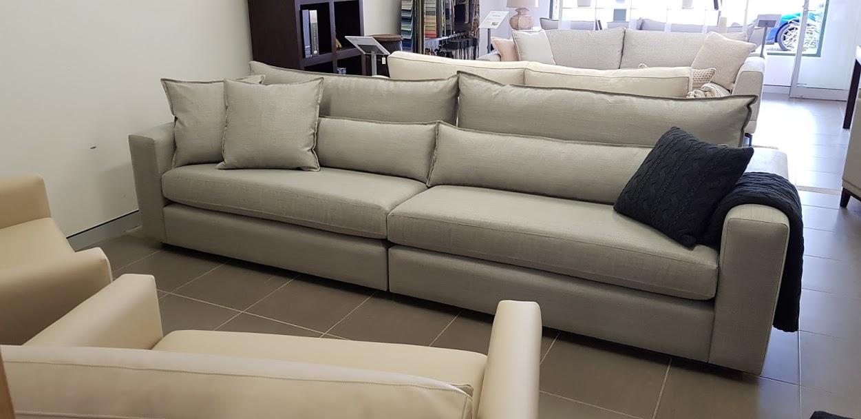 Design blend two piece sofa