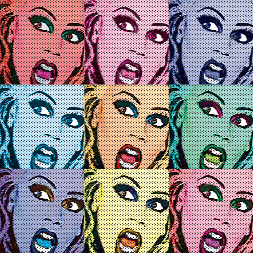 POP ART Art which includes imagery from popular culture - think Warhol!
