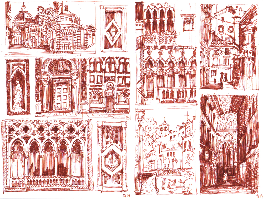 Studies for CITTÀ