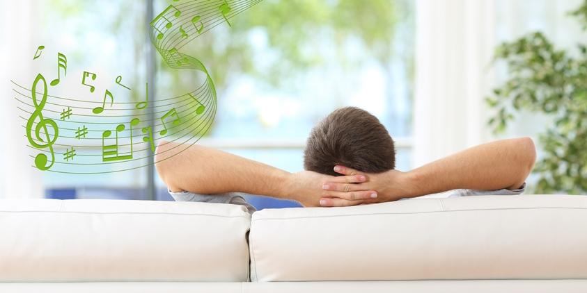 - Muzica multiroomVă permite să ascultați muzică diferită în camere diferite alei casei dvs. folosind difuzoare incorporate în tavan , precum permiteți muzicii dvs. să vă urmeze printre camere.