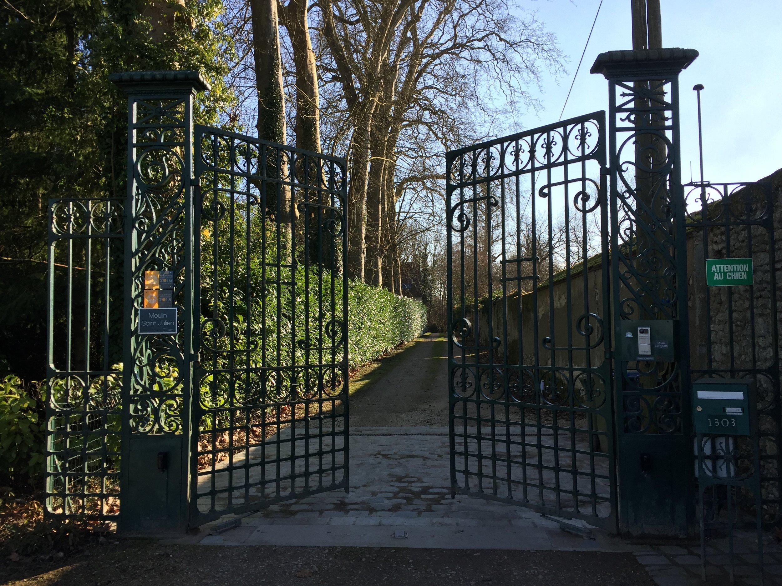 Le portail majestueux