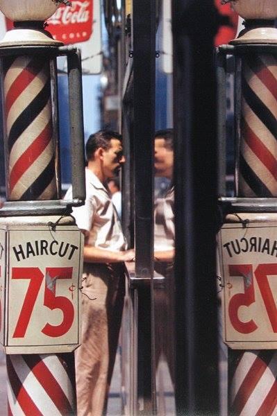 Haircut © Saul Leiter