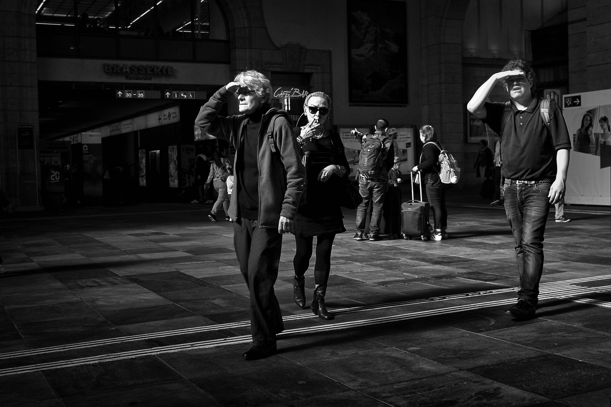 "7 - Gerri McLaughlin ""Across The Lonely Sea"" I, Bahnhof SBB, Basel, 2013-2018"