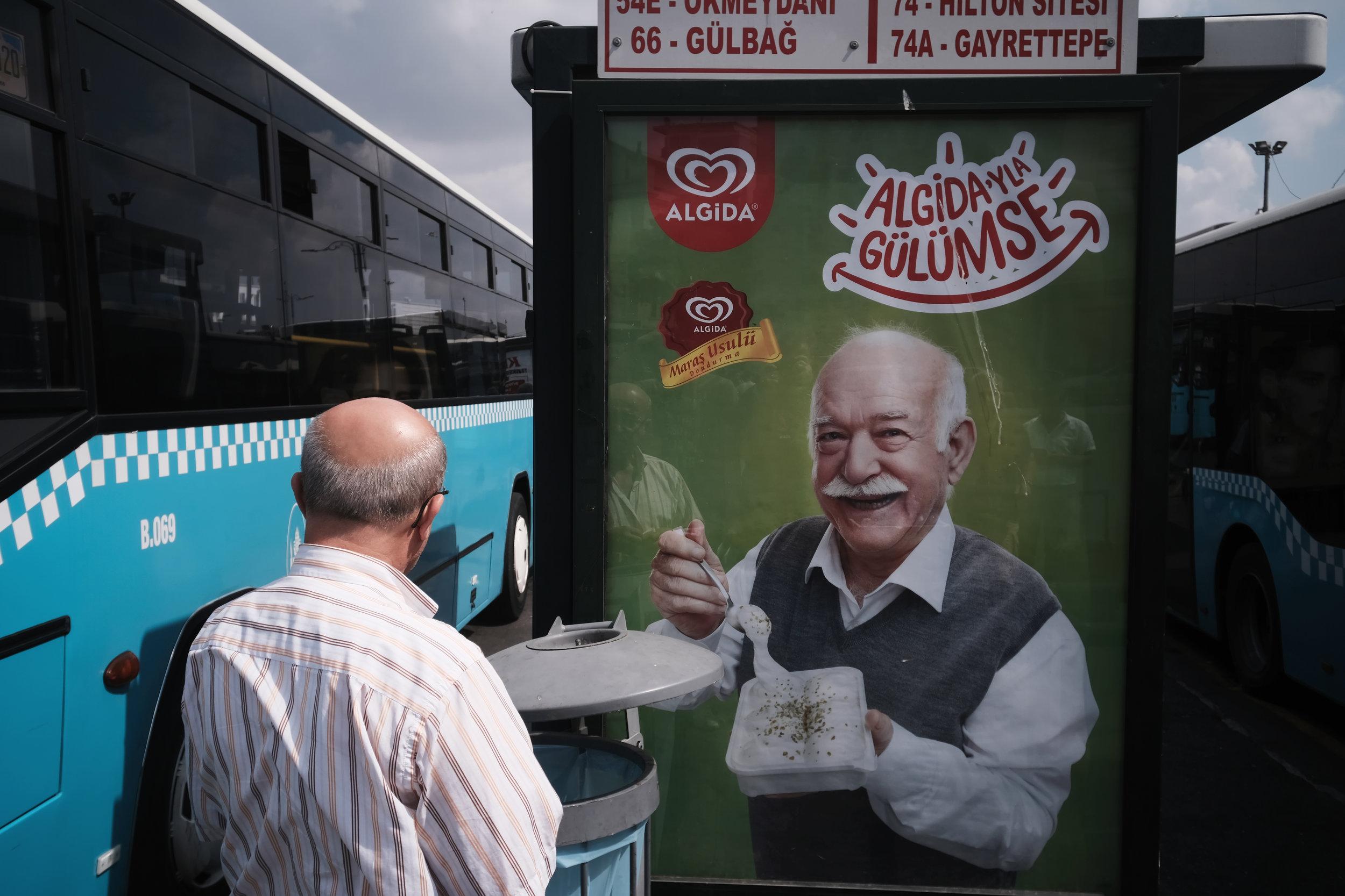 """23 - Alphan Yilmazmaden """"Eminönü Bus Station"""" Istanbul, 2018"""