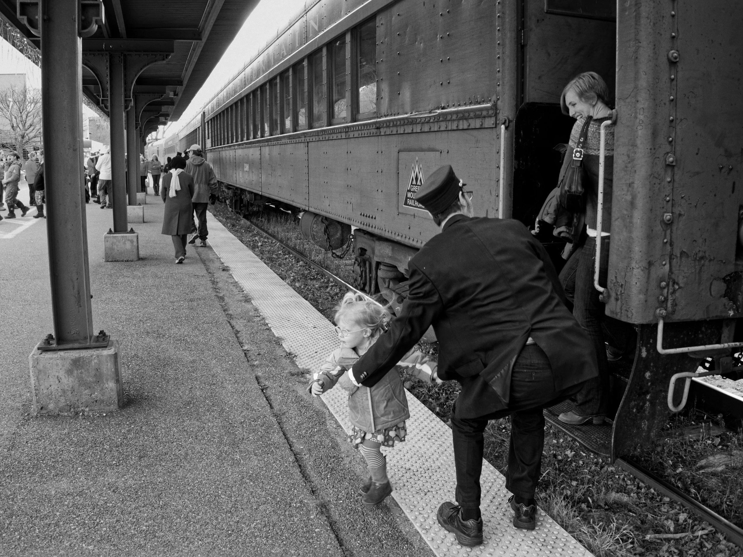 "1 - Mark Guider  ""Disembark"" Burlington, Vermont, December 9th 2012"