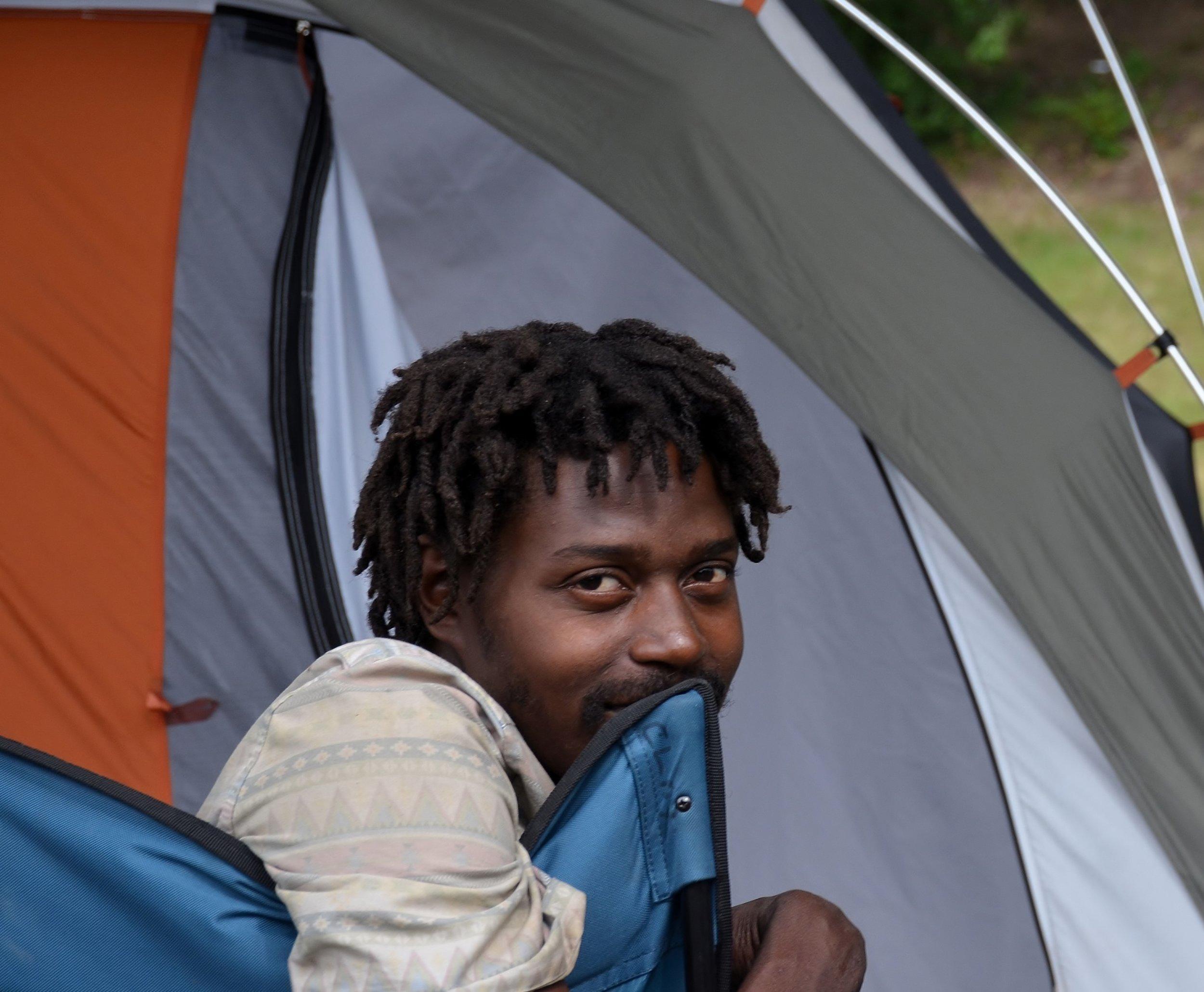 Resident of TentCity 9-21-16.JPG
