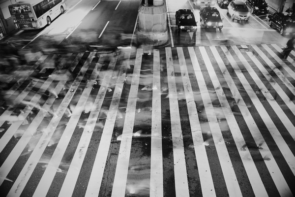 The Crosswalk - by Takashi Tachi