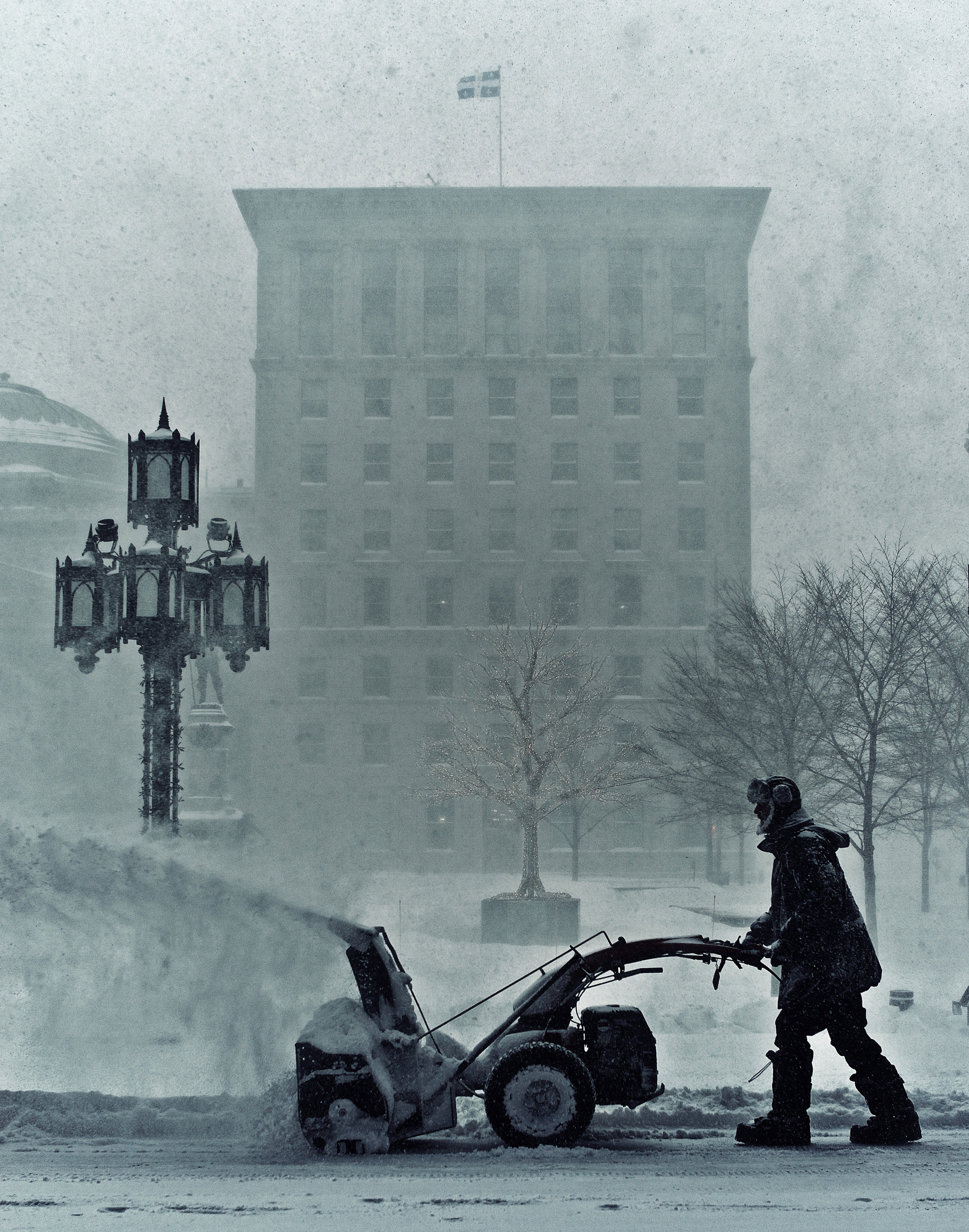 Colder Than A Witch's Tit: Montreal in winter - by Charles Lafrance