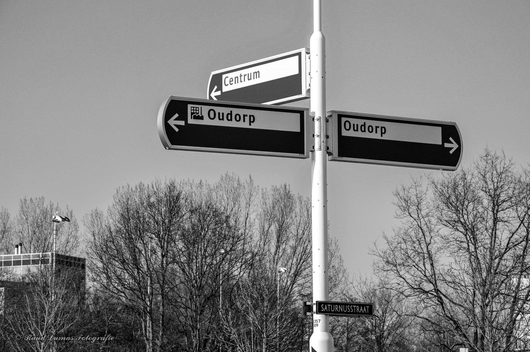 New signage - by Ruud Dumas