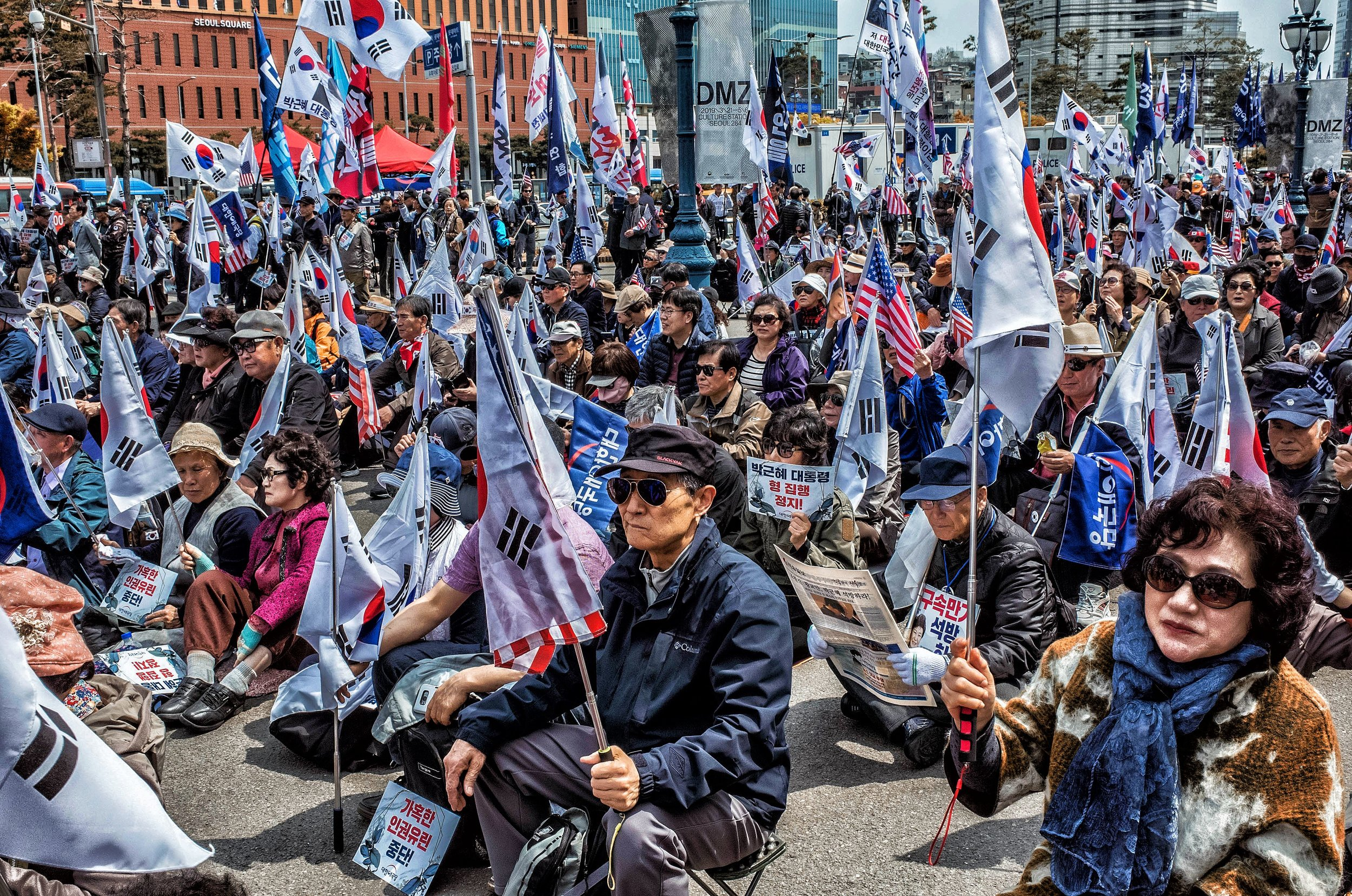 Seoul's Older Generation Takes it to The Streets - by Michael Kennedy