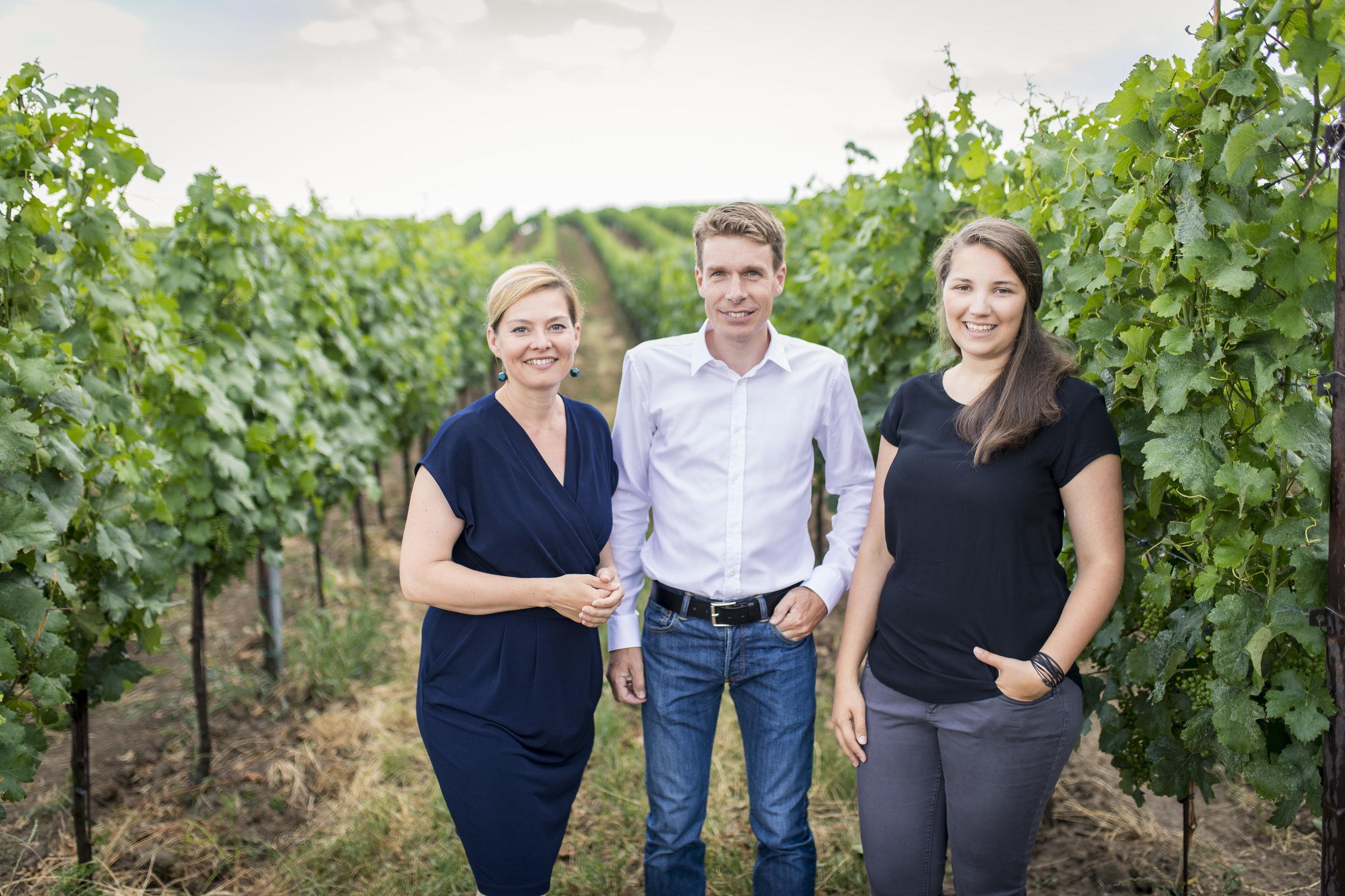 Daniela, Harald, Katrin Frank