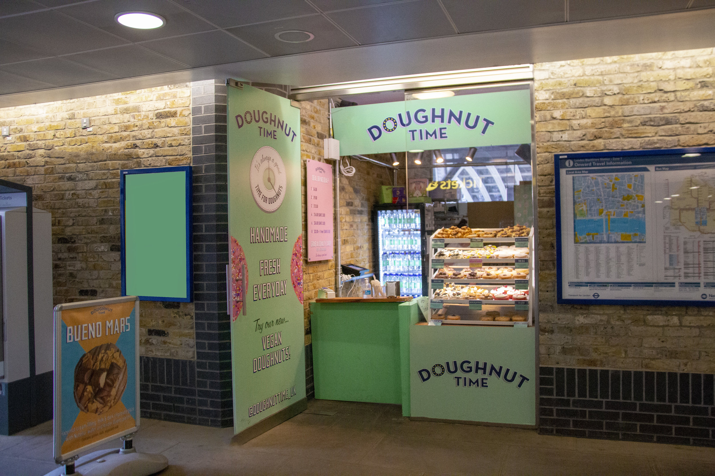 Blackfriars - Blackfriars Station, Southern Concourse, London SE1 9JHMon-Fri: 8am-8pmSat-Sun: 10am-8pm