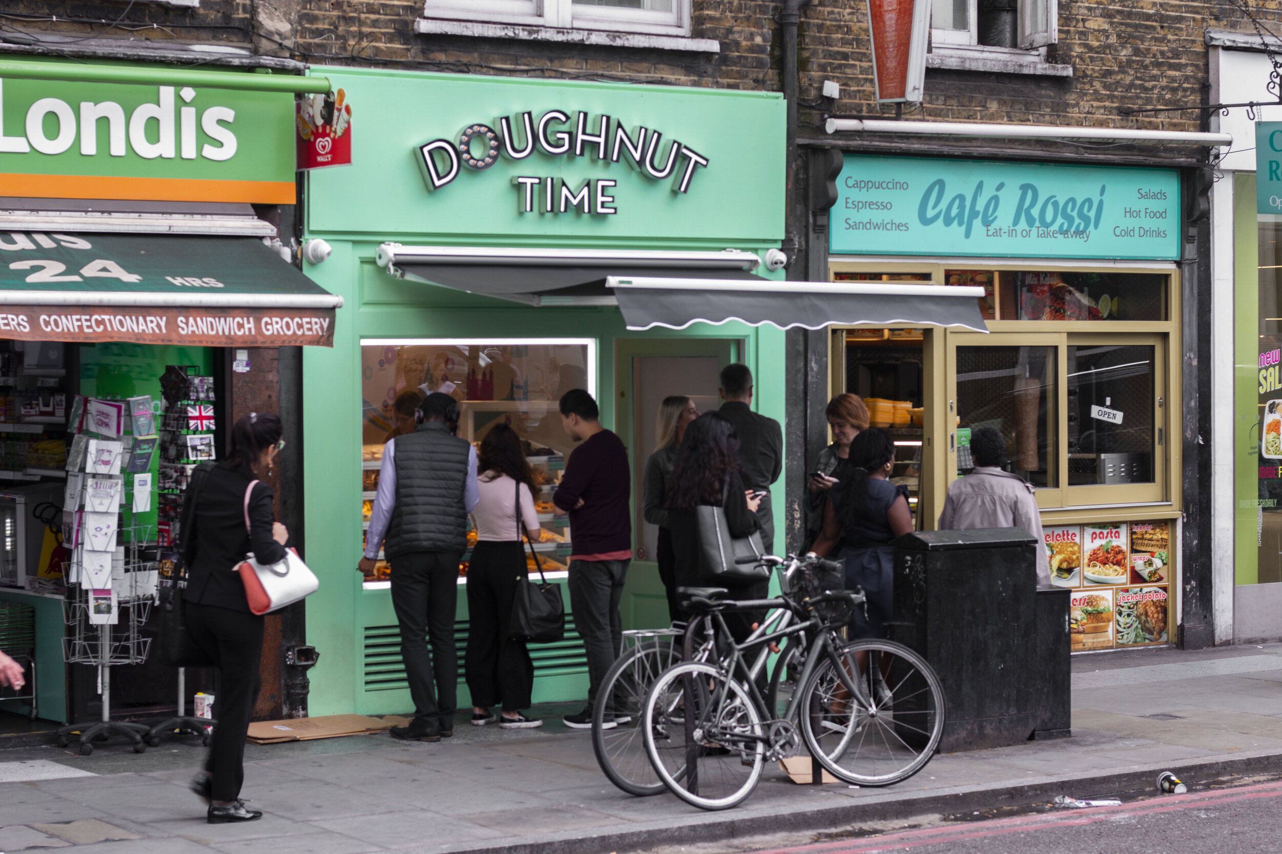 Borough High Street - 55 Borough High St, LondonSE1 1NEMon-Fri: 8am-10pmSat-Sun: 8am-10pm