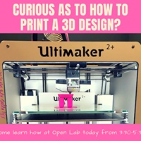 Come down & try out the printer. -