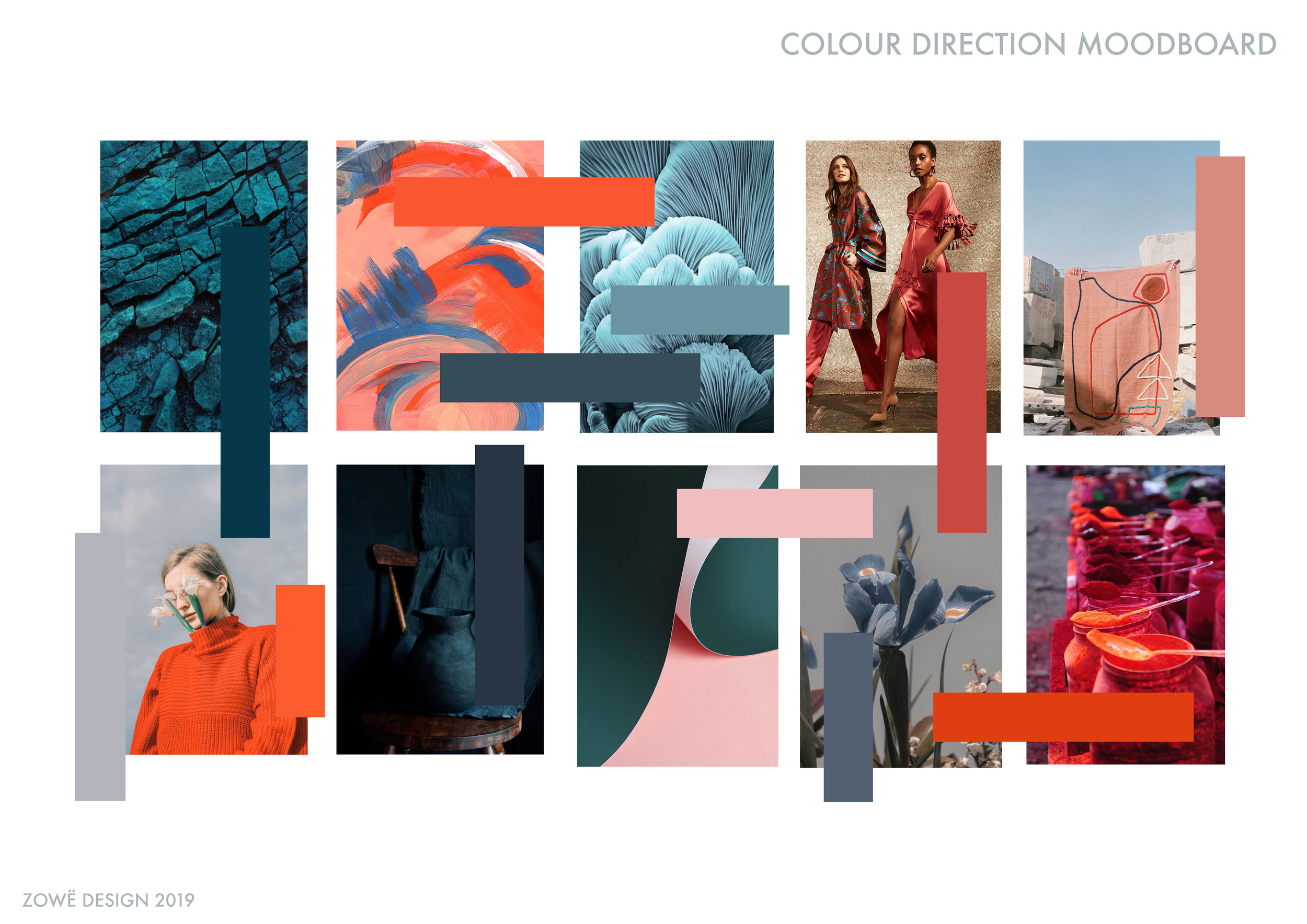 Colour Direction   * Images not my own and sourced from trend & design blogs