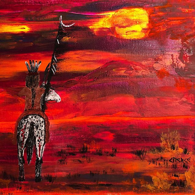Dreaming Elk