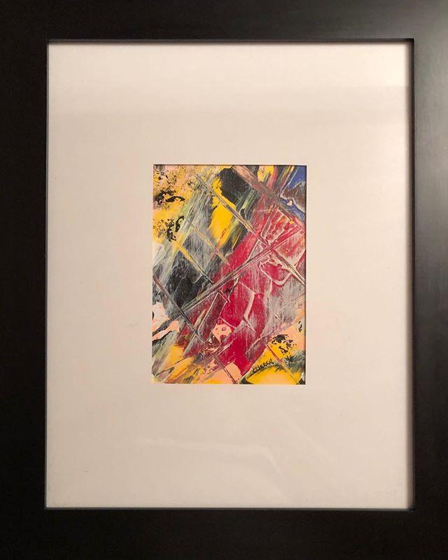Eye of Horus  Acrylic on Canvas 5x7